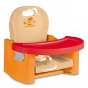 Scaun de masa 3 inaltimi portocaliu cu rosu Joycare