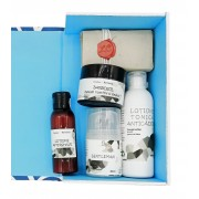 Set cadou produse naturale de ingrijire BARBATI-5 produse