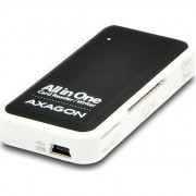 Card reader Axagon CRE-X1, USB 2.0, 5 in 1, SD, microSD, MS, CF, XD, Negru