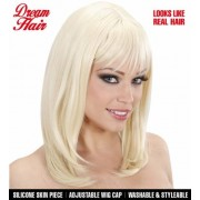 Peruk Blond delux