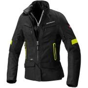 Spidi Voyager 4 H2Out Women Motorcycle Textile Jacket Black Yellow 2XL