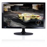 Samsung s24d330 monitor 24 Full HD, 1920 x 1080, 1 MS, 60 Hz, Game Mode, D-Sub, HDMI-kabels bevatten, zwart