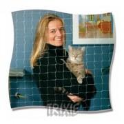 Ochranná síť pro kočky 4x3m - transparentní