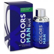Benetton Colors De Benetton Blue Eau De Toilette Spray 3.4 oz / 100.55 mL Men's Fragrances 550359