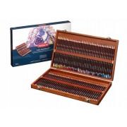 Derwent Coloursoft 72 kleurpotloden in een houten kist