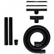 Set 5 accesorii pt aspirator (furtun, tuburi, duze, adaptor), Einhell 2362010, negru