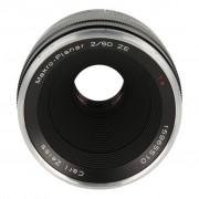 Zeiss Planar T* 2/50 ZE mit Canon EF Mount Schwarz