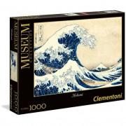 Clementon puzzle 1000 pezzi museum collection la grande onda di hokusai 39378
