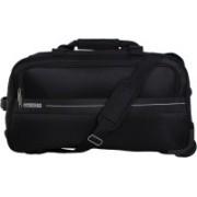 American Tourister Marco Duffle on Wheel 54 cm (Black) Travel Duffel Bag(Black)