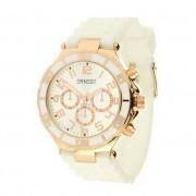 Ernest horloge wit rosé