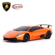 Rastar 1/24 Scale Lamborghini Murcielago Lp670 4 Sv Radio Remote Control Model Car (Orange)