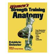 Women's Strength Training Anatomy (Delavier Frederic)(Paperback) (9780736048132)