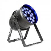 Beamz BPP100 PAR 64 Foco LED 18x6W RGBW 60W Negro (151.245)