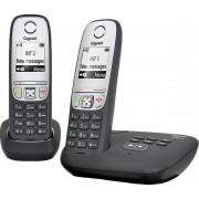 Gigaset A415A - Duo DECT telefoon - Antwoordapparaat - Zwart