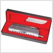 Chromatická fúkacia harmonika JH1040 C ladenie Golden Cup
