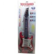 Shribossji Rock Roll Musical Guitar With Led Lights For Kids