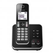 Panasonic KX-TGD320ALB Single Handset Cordless Phone with Answering Machine