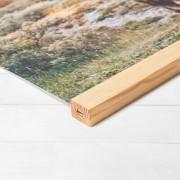 smartphoto Fotoposter mit magnetischer Posterleiste 60 x 90 cm Holz