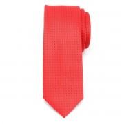 pentru bărbați îngust cravată (model 1258) 7963 în roșu culoare