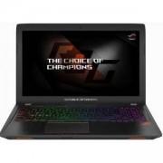 Лаптоп Asus GL553VE-FY330, Intel Core i7-7700HQ (up to 3.8GHz, 6MB), 15.6 инча FHD (1920x1080) IPS AG, 8GB DDR4 2133MHz, 1TB 5400rpm, 90NB0DX3-M05250