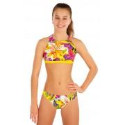 LITEX Dívčí plavky kalhotky bokové 57553 152