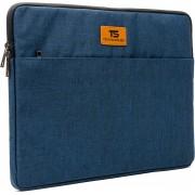 """Tech Supplies - MTS13G Premium Selection Soft Sleeve Voor de Apple Macbook Air / Pro (Retina) 13 Inch - 13.3"""" Case - Fluweel zacht van binnen Bescherming Cover Hoes - Ook geschikt voor alternatieve laptop merken - Blauw"""
