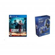 Resident Evil 2 PS4 + PowerA Cargador Completo PS4