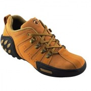 Elvace Tan Woodleaf Sneaker Men Shoes-7025
