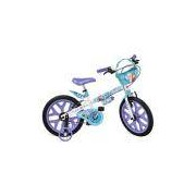 Bicicleta Infantil Bandeirante Frozen Aro 16 Branca