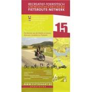 Fietskaart 15 Fietsroute-Netwerk De bronnen van de Schelde en Somme | Sportoena