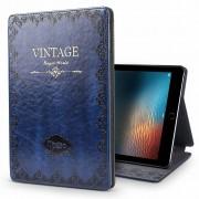 iPadspullekes.nl iPad hoes 2018 leer vintage blauw