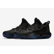 air jordan super fly 2017 low Basketball Shoes For Men(Black)
