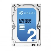 Seagate Enterprise NAS Hard Disk Drive 2TB SATA 6Gbps 128 MB Internal Bare Drive with Rescue Data Recovery Services ST2000VN0011