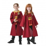 Rubies Disfraz de Quidditch de Harry Potter infantil - Talla 7 a 8 años