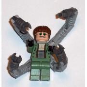 "Lego Spider-Man 2 Dr. Octopus Doc Ock 2 Figure"""