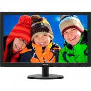 "Monitor LED Philips 21.5"", Wide, Full HD, Negru Lucios"