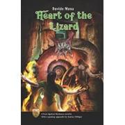 Heart of the Lizard: A Four Against Darkness Novella with a gaming appendix by Andrea Sfiligoi, Paperback/Andrea Sfiligoi