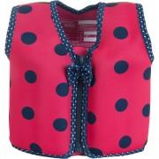 Konfidence - Vesta inot copii cu sistem de flotabilitate ajustabil The Original ladybird polka 6-7 ani