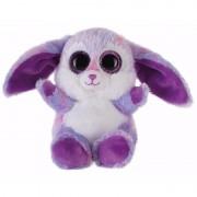 Bauer Speelgoed knuffel paars haasje/konijntje 15 cm