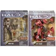 "Halo 6"" Action Figure Alpha Crawler Series Elite Zealot & Linda-058 Build A Figure 2-Pack"
