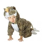 X-C-Q Pijama de Disfraces de Animales para niños, Leopard, 7-8
