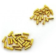 BW® 20 Pairs 3.5mm Gold Plated Male & Female Bullet Banana Plug Connector for ESC Battery (20 Male