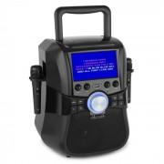"""Auna Stage Hero Sistema de karaoke DVD 7""""Bluetooth 2 micrófonos 25 W RMS (MG5-Stage Hero)"""