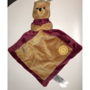 Doudou Ours Winnie The Pooh Rouge Bordeaux Jaune Ocre Disney Simba Toys Benelux 90 Years Of Friendship Celebrating Adventures Peluche Ourson Bebe Naissance Comforter Soft Toy