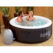 Whirlpool LAY-Z-SPA mit 80 Sprudelbad Düsen + Heizung + Massage outdoor Spa a...