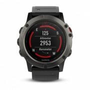 GARMIN Fenix ??5X Sapphire Smart Watch - Gris pizarra + Negro