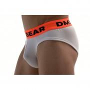 DMXGEAR Anatomic Fit Luxury Cotton Brief Underwear White DMX18AF01