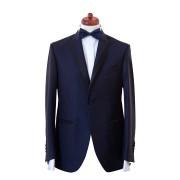 Sacou smoking Slim Fit Gentlemen`s Corner - Tasmanian Blue