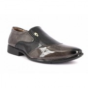 Mclout Mens Black Slip on Loafers