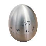 Mechanická kovová minutka JVD DM76 (vajíčko - nerezové)